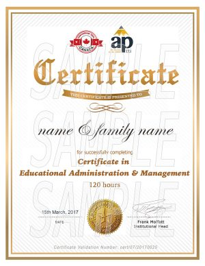 certificate-education-management