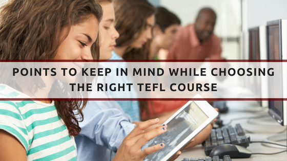 TEFL Course in India